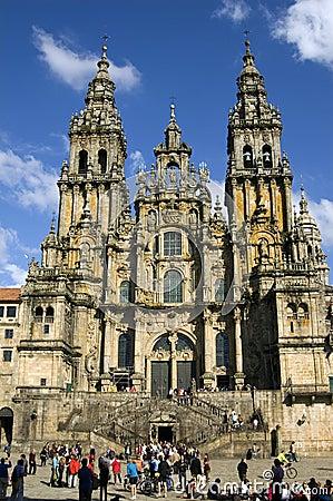 Free Santiago De Compostela Cathedral, Galicia, Spain Stock Photos - 35455263
