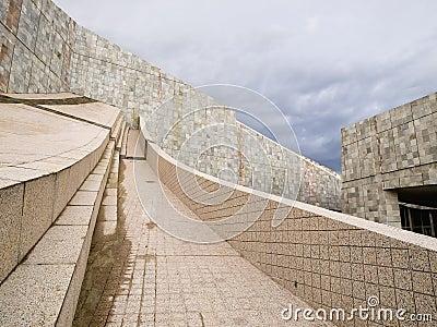 SANTIAGO DE COMPOSTELA, SPAIN - NOVEMBER 13: City of Culture 3 Editorial Stock Image