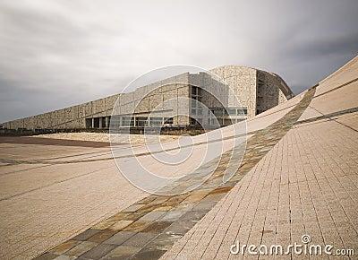SANTIAGO DE COMPOSTELA, SPAIN - NOVEMBER 13: City of Culture 4 Editorial Image