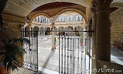Santiago Hospital in Úbeda, Spain Stock Photo