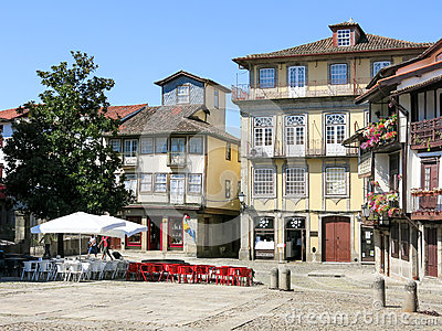 Santiago Square In Guimaraes Portugal Editorial Stock Image Image 62345174