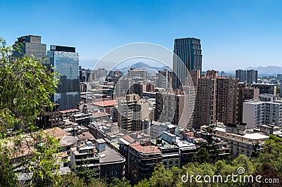 Santiago view.