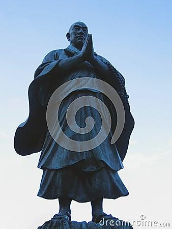 Santo de Budhist Foto de archivo editorial