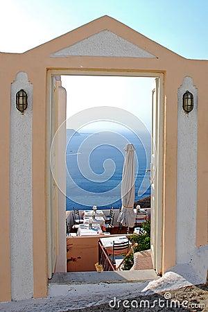 Santorin view