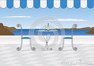 Santorini Cafe