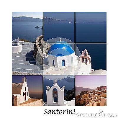 Free Santorini Collage 01 Royalty Free Stock Photos - 19917718
