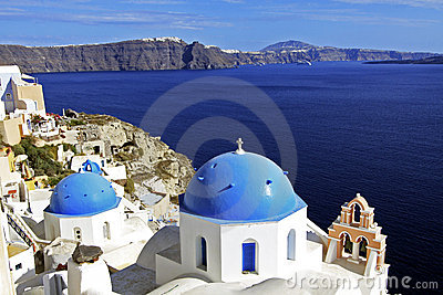 Santorini, Greece Churches