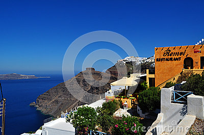Santorini, Greece Editorial Stock Image