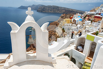 Santorini, Greece Editorial Photography