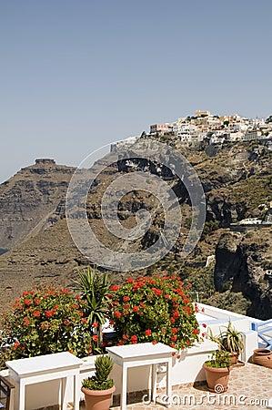 Free Santorini Greece View Of Town Caldera Stock Photography - 6284252