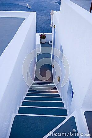 Santorini houses - Stairway to Heaven