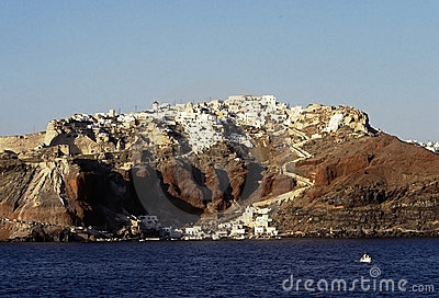 Santorini island, Cyclades, Greek