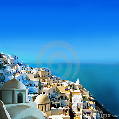 Free Santorini Island, Greece Royalty Free Stock Photos - 16767138