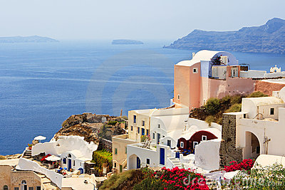 Santorini island. Greece