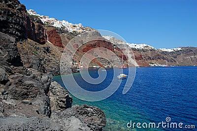 Santorini island  Oia view