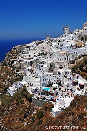 Santorini island, Oia village