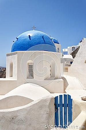 Santorini Oia Church 01