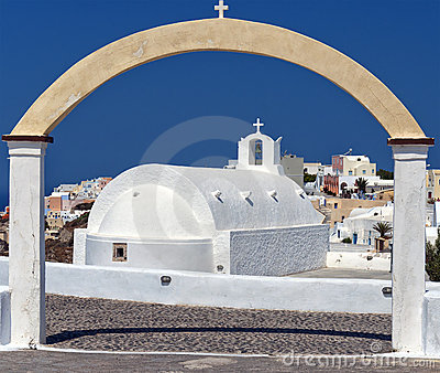 Santorini Oia Church 03