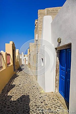 Santorini street (Oia) - Greece