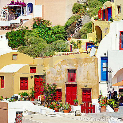 Santorini -traditional architecture