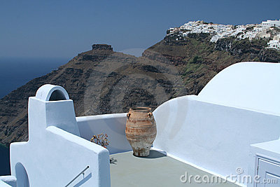 Santorini views