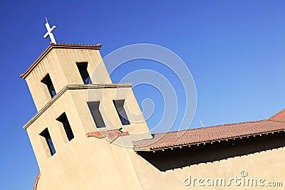 Santuario de Guadalupe in Santa Fe, New Mexico.