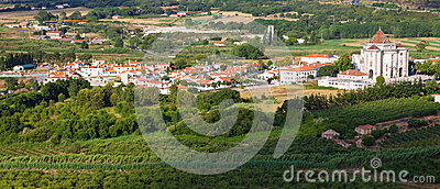 Santuario do Sr. da Pedra seen from Obidos