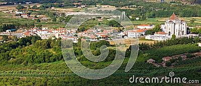 Santuario do Sr. da Pedra seen from Obidos