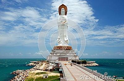 SanYa, China: Guan Yin Buddha
