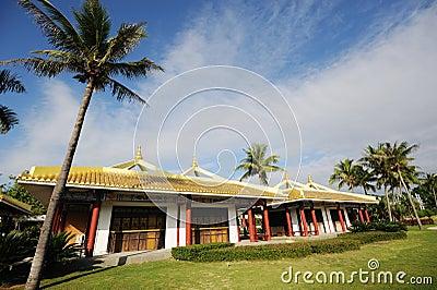 Sanya nanshan kulturell turismzon