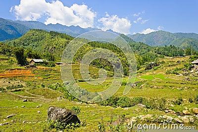 Sapa mountain view