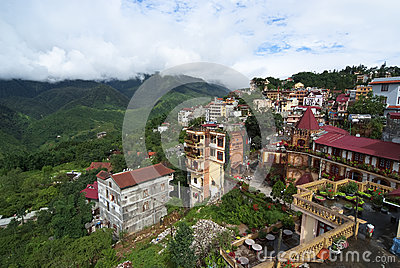 Sapa, Vietnam Editorial Photo