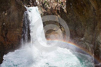Sapadere canyon Stock Photo