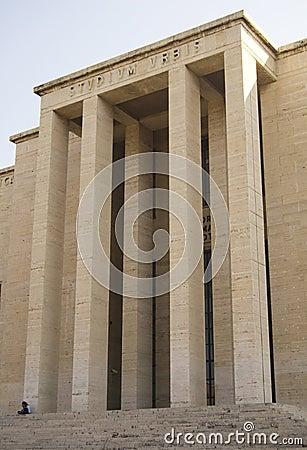 Sapienza University Rome Building Facade