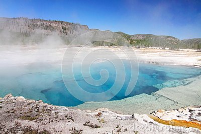 Sapphire Pool In Yellowstone