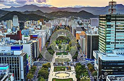 Sapporo at Odori Park