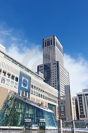 Sapporo Station Building Editorial Stock Photo