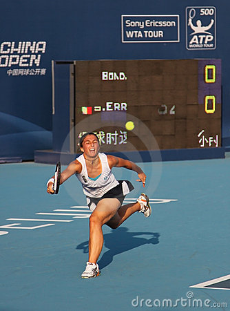 Sara Errani (ITA), professional tennis player Editorial Photo