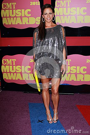 Sara Evans at the 2012 CMT Music Awards, Bridgestone Arena, Nashville, TN 06-06-12 Editorial Photography