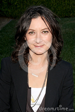 Sara Gilbert Editorial Stock Image