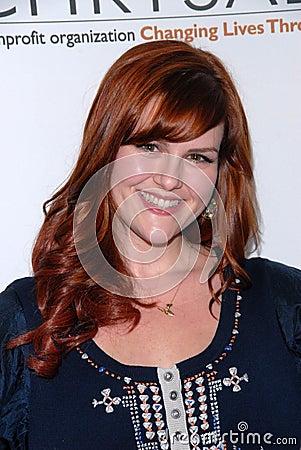 Sara Rue Editorial Stock Photo