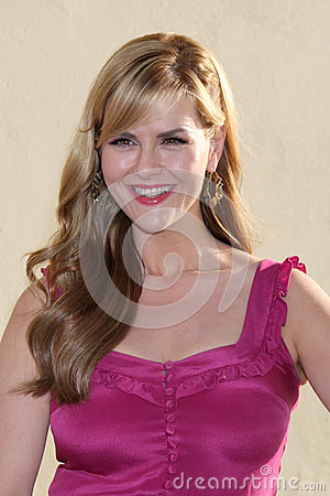 Sara Rue arrives at the ABC / Disney International Upfronts Editorial Photo