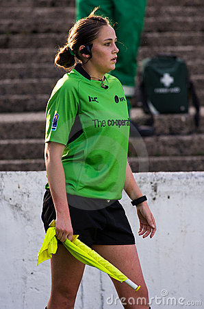 Sarah Bennison - RFL match official Editorial Image