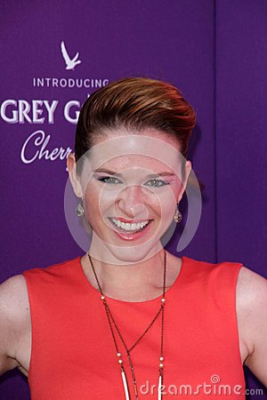 Sarah Drew at the 2012 Chrysalis Butterfly Ball, Private Location, Los Angeles, CA 06-09-12 Editorial Photography