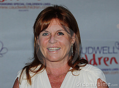 Sarah Ferguson Editorial Stock Photo