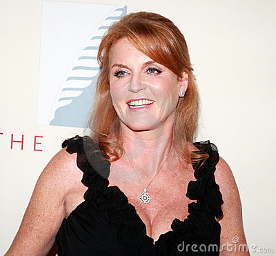 Sarah Ferguson Duchess of York Editorial Photography