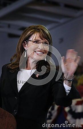 Sarah Palin Editorial Stock Photo