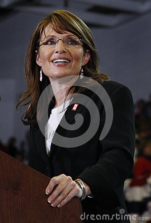 Sarah Palin Editorial Photography