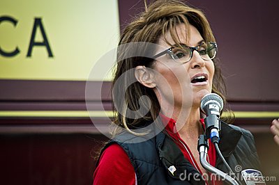Sarah Palin 13 Editorial Stock Image