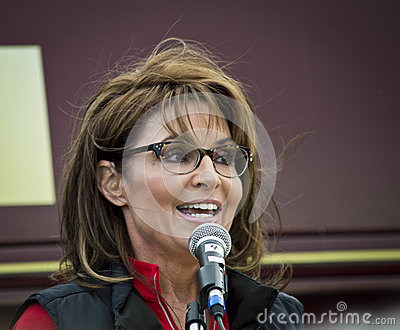 Sarah Palin 10 Editorial Image